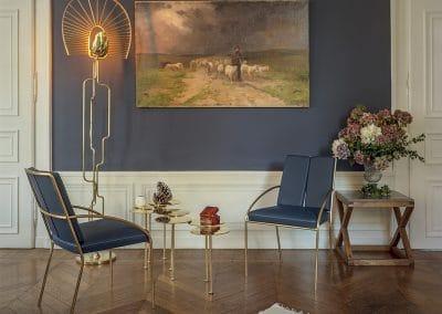 Table et fauteuils