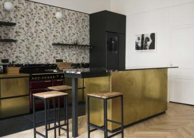 Cuisine en laiton - Paris - Dix9mai